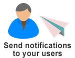Send notifications